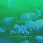 20th january born cute birthday wishes