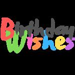 Birthday wishes first logo