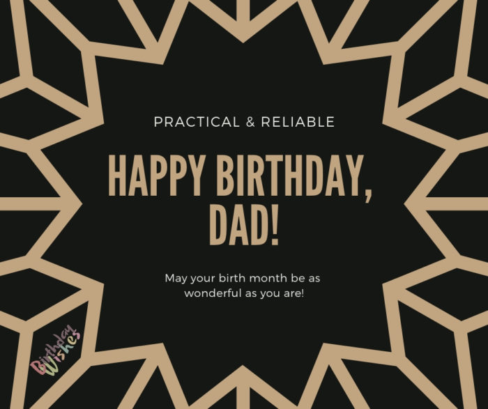 Happy birthday message for father quotes with images