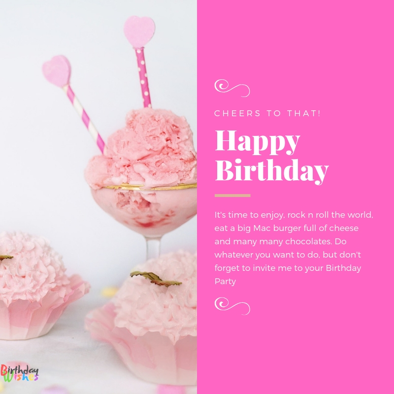 Don't Forget me on your birthday