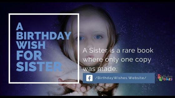 best Birthday wishes for sisters with images