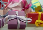 Birthday gift boxes ribbon ideas