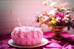 Beautiful Birthday cake images with flower decoration